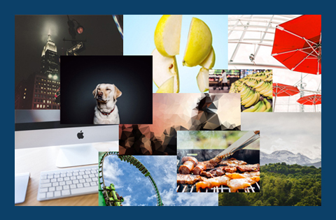 Collage of Stock Photos from thenuschool.com