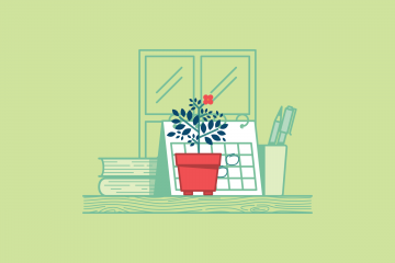 5 Steps Guide to Grow Your Own Potted Plant in the Office