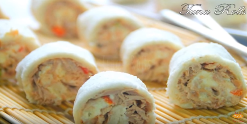 Tuna Rolls Recipe by TheCooknShare – Youtube Channel