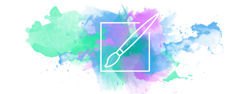 Design Trend: Watercolors in graphic design - BLOG
