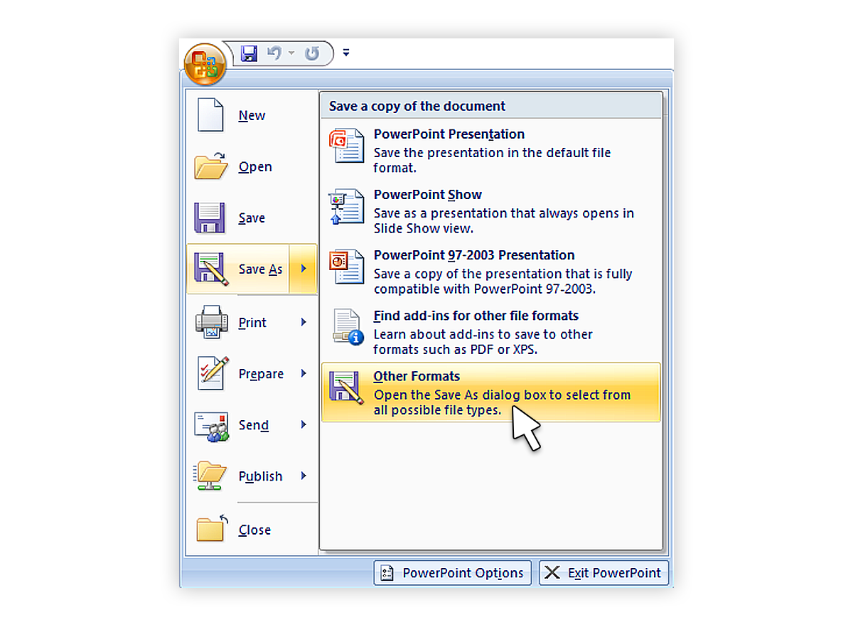 Tutorial save your powerpoint as a video blog how to convert ppt to video 20071 ccuart Images