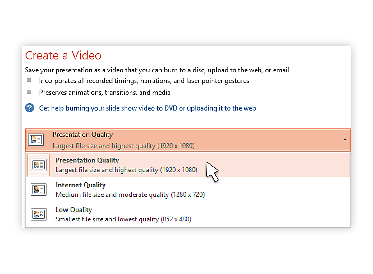 How To Convert Ppttovideo2013_3