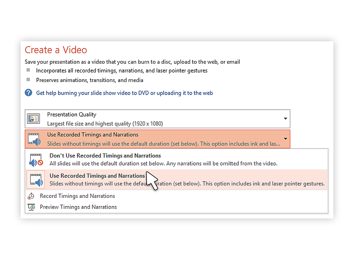 How To Convert Ppttovideo2013_4