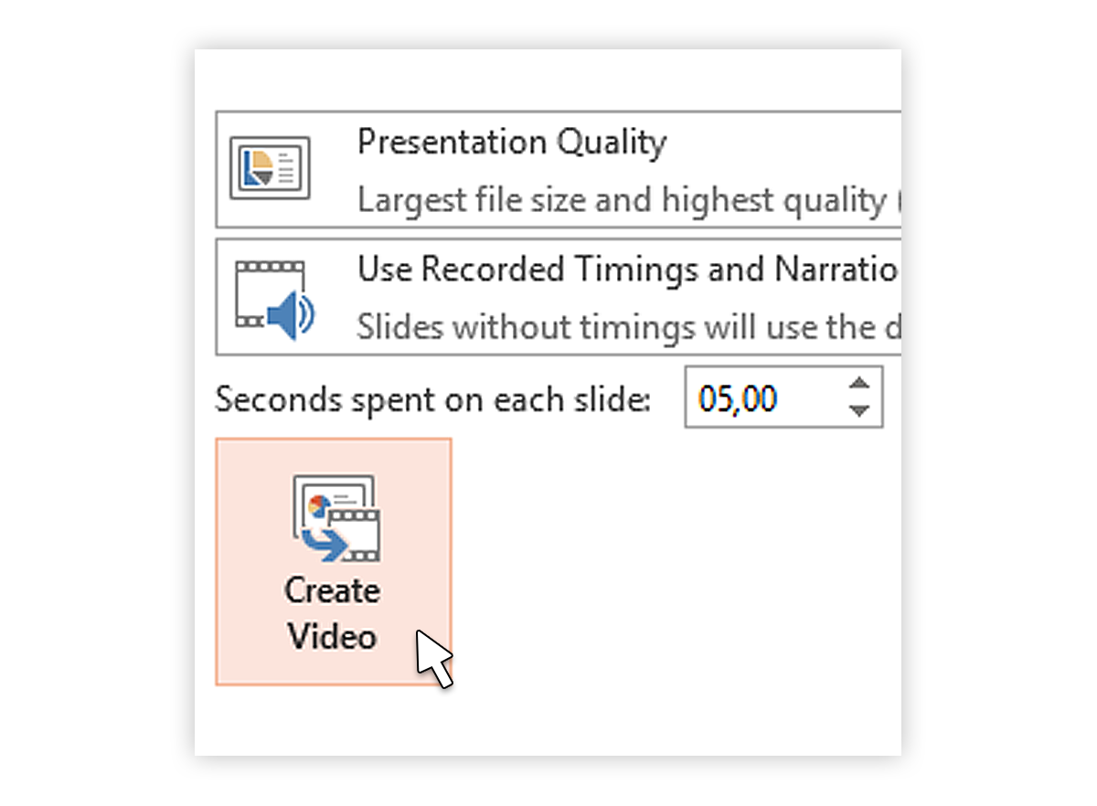 How To Convert Ppttovideo2013_5