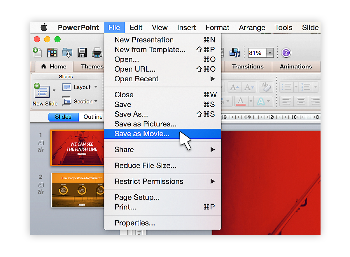How To Convert Ppttovideomac_1 Tutorial: Save Your Powerpoint As A Video  Blog