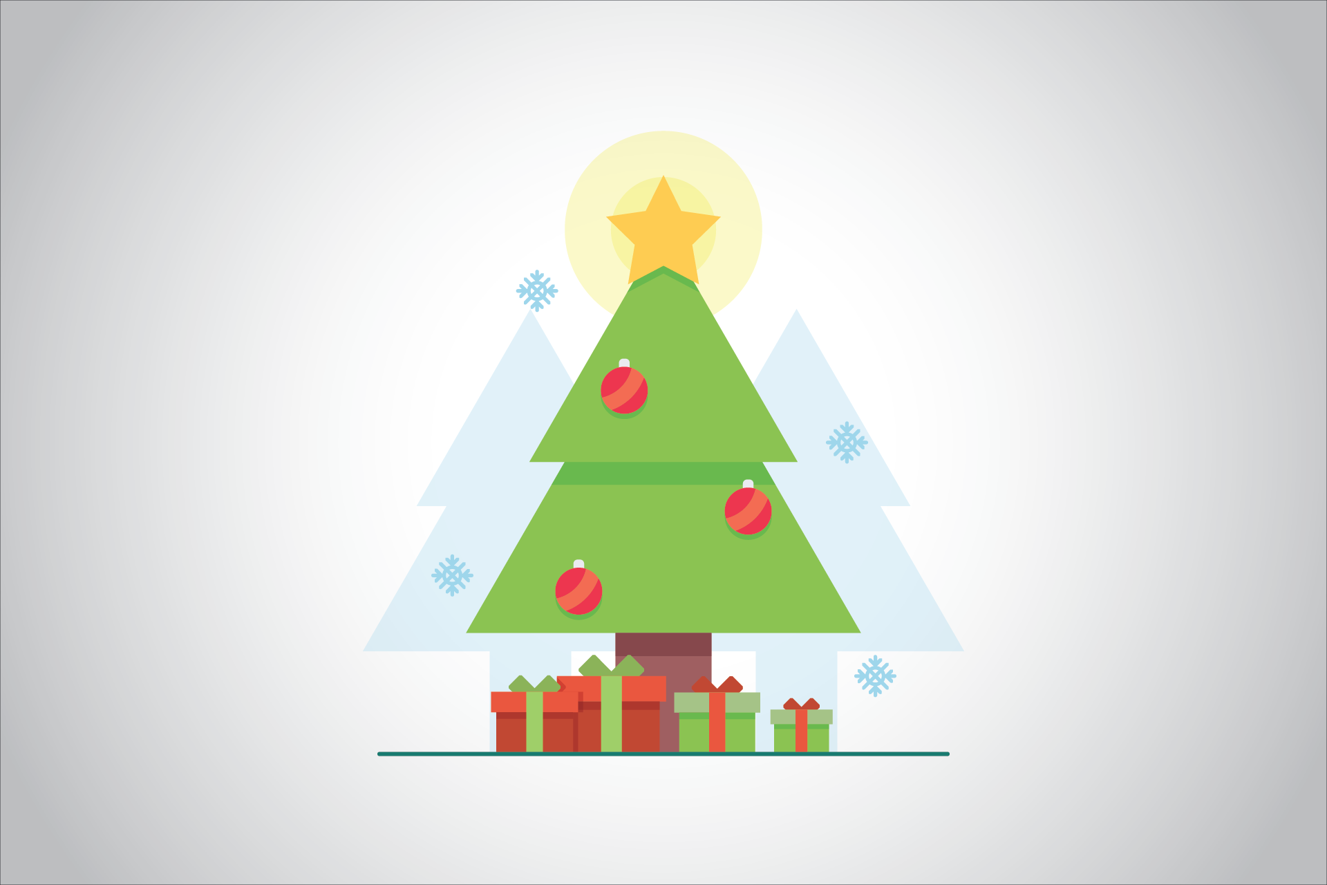 Christmas PowerPoint Design template