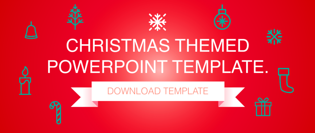 Download Christmas themed powerpoint template