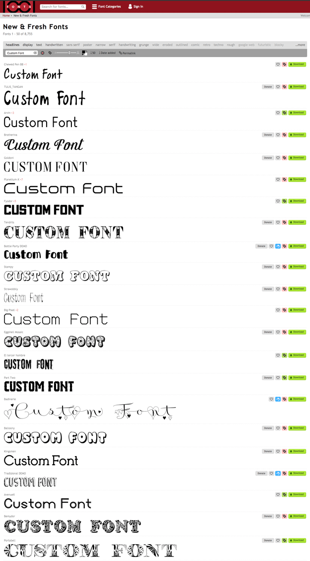 Powerpoint-fonts