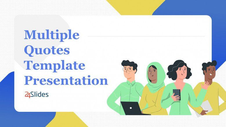 Multiple Quote Slide for Virtual PowerPoint Presentations