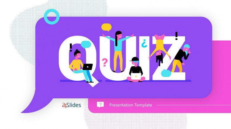 Quizz Slide for Virtual PowerPoint Presentations