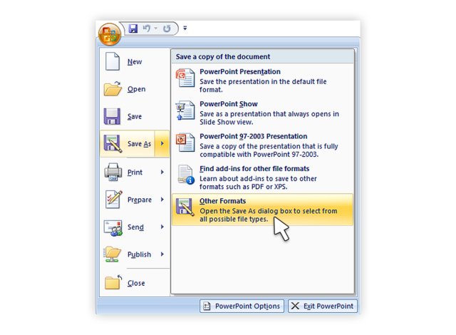 how to convert ppt-to-video-2007_1