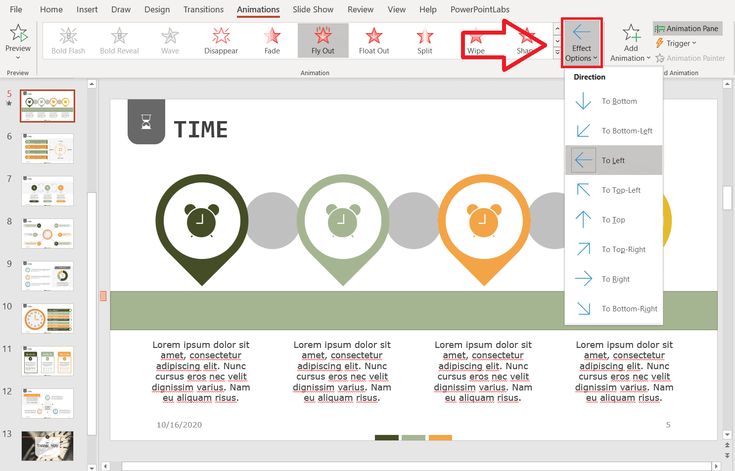 create a powerpoint timer