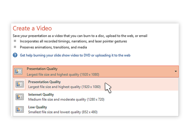 how to convert ppt-to-video-2013_3