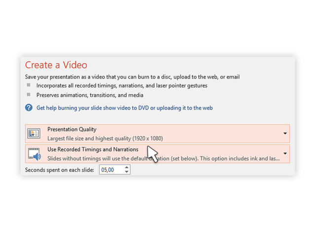 how to convert ppt-to-video-2016_3