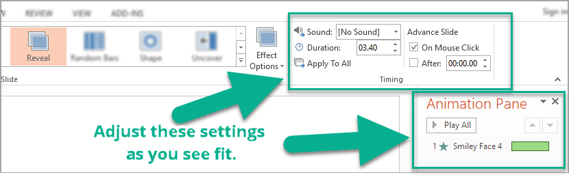 add animations to powerpoint