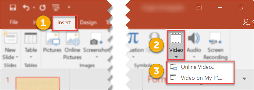 How to use video as background in PowerPoint
