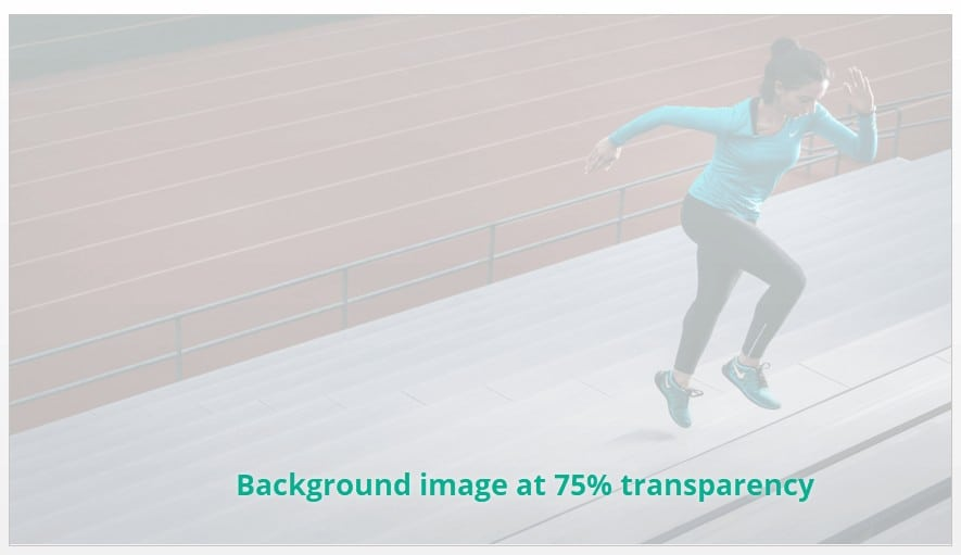 The background image used in sample PowerPoint slide at 75% transparency