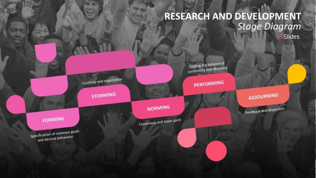 Research stage template - Academic Conference Presentation Templates