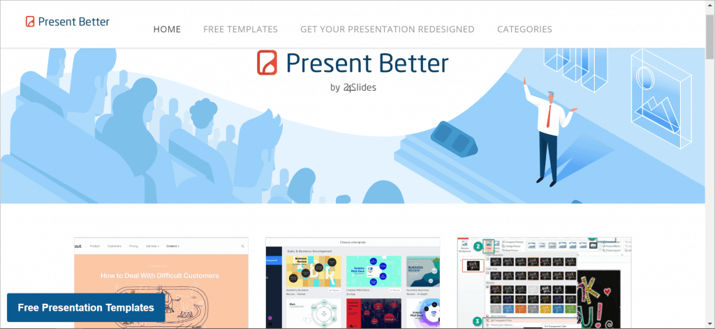 The Present Better Blog - one of the top blogs on the subject of Presentation