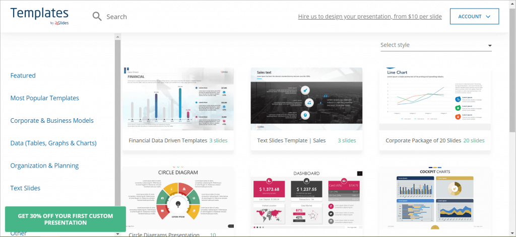 Top Presentation Resources - Template Hub by 24slides