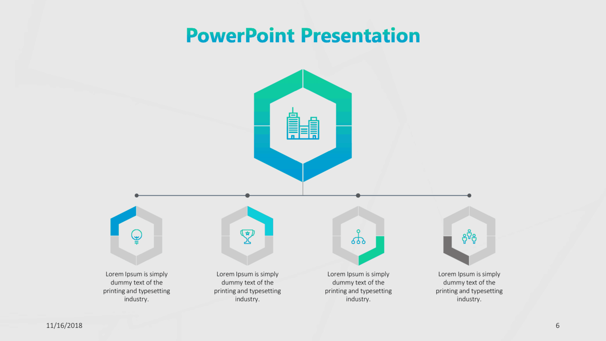 Consulting Presentation Template Pack cover slide