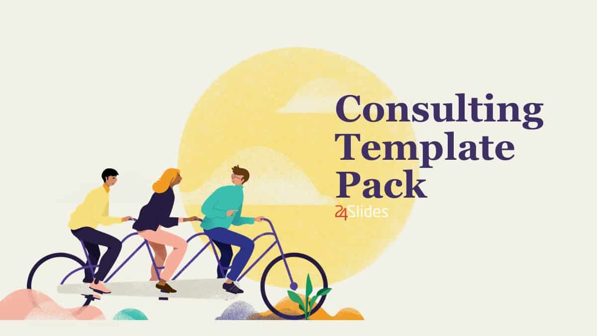 Soft Consulting Template Pack cover slide