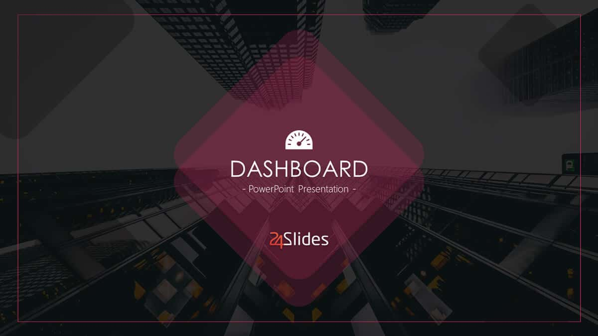 Dashboard Template Pack cover slide