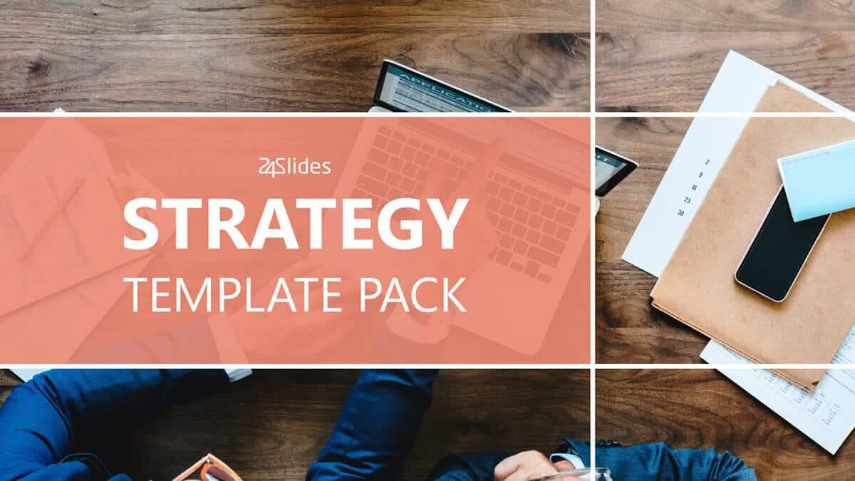 Strategy PowerPoint Template Pack cover slide