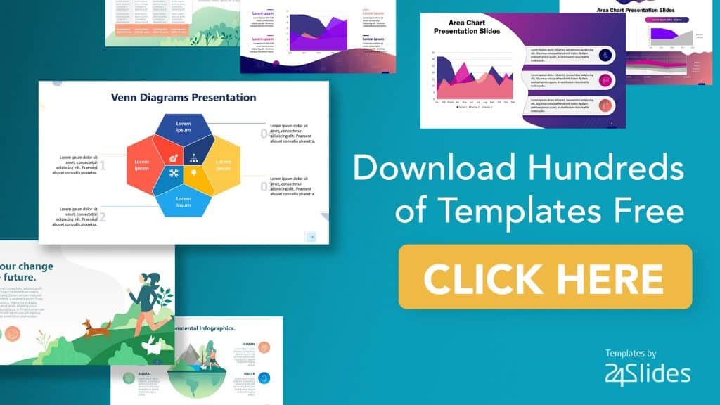 Banner to download hundreds of free templates