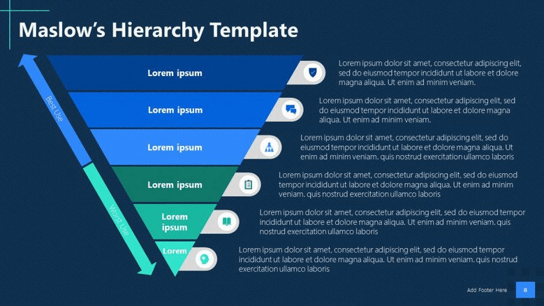 corporate hierachy powerpoint template