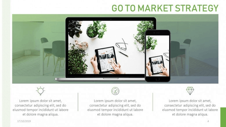 market strategy powerpoint template