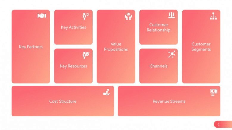 pink business PowerPoint template