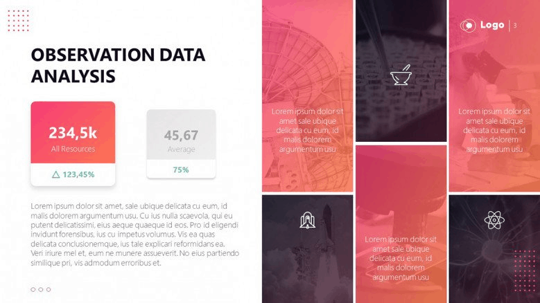 free pink PowerPoint template