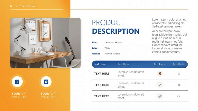 catalog PowerPoint template