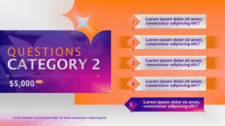 game PowerPoint template