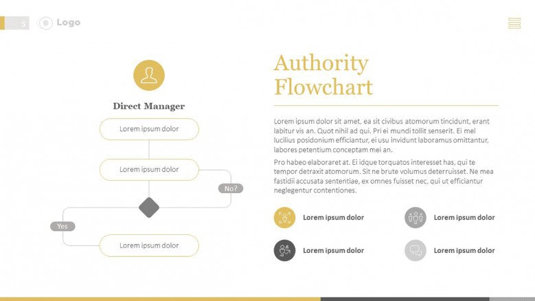 hierarchy PowerPoint template