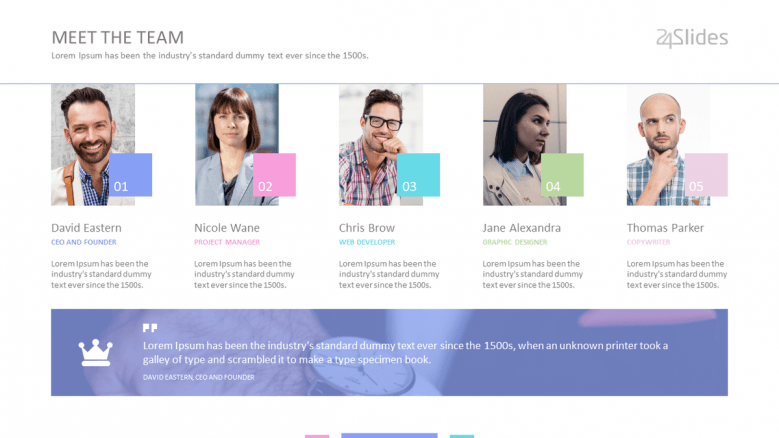 pastel themed powerpoint template