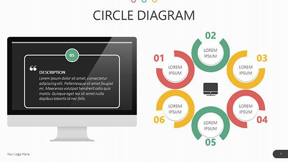 FREE Circle Diagrams Presentation Templates PowerPoint Template