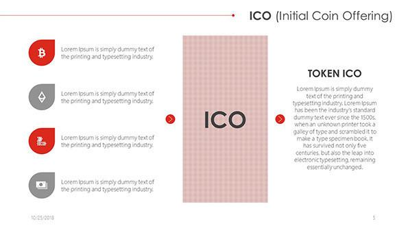 FREE ICO (Initial Coin Offering) PowerPoint Template PowerPoint Template