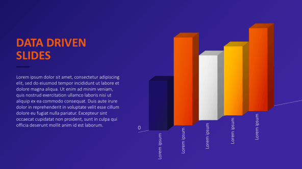 FREE Data Driven PowerPoint Templates PowerPoint Template