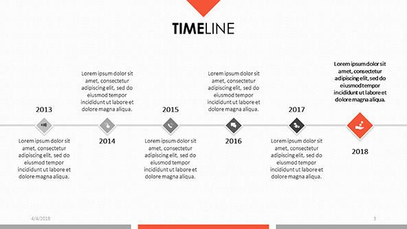 FREE Timeline Presentation Templates PowerPoint Template
