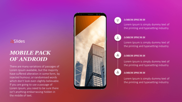 FREE Android Mobile Presentation Template Pack PowerPoint Template