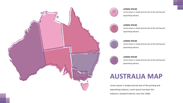 FREE Australia Maps PowerPoint Template PowerPoint Template