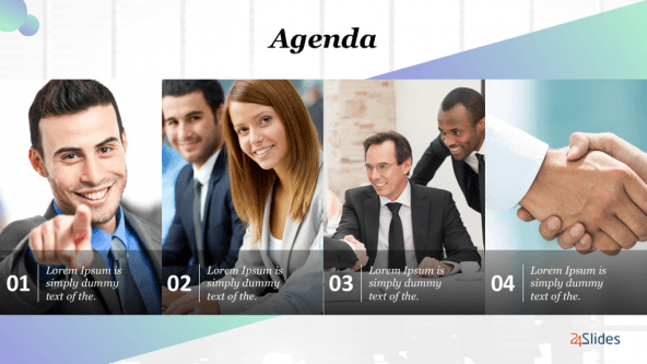 FREE General Agenda Presentation Template PowerPoint Template