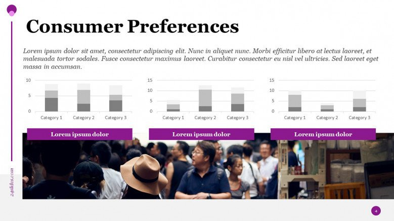 Consumer Preferences PowerPoint Slide