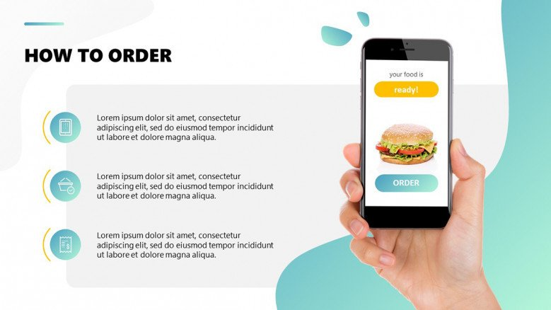 How to order food delivery through an app