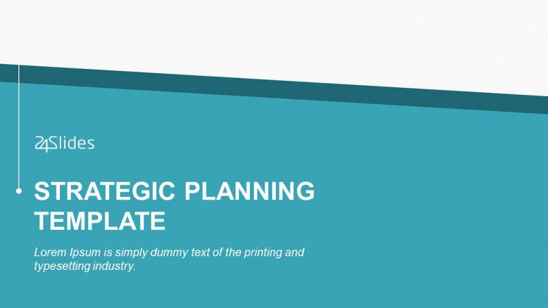 Strategic Planning PowerPoint Template for Businesses
