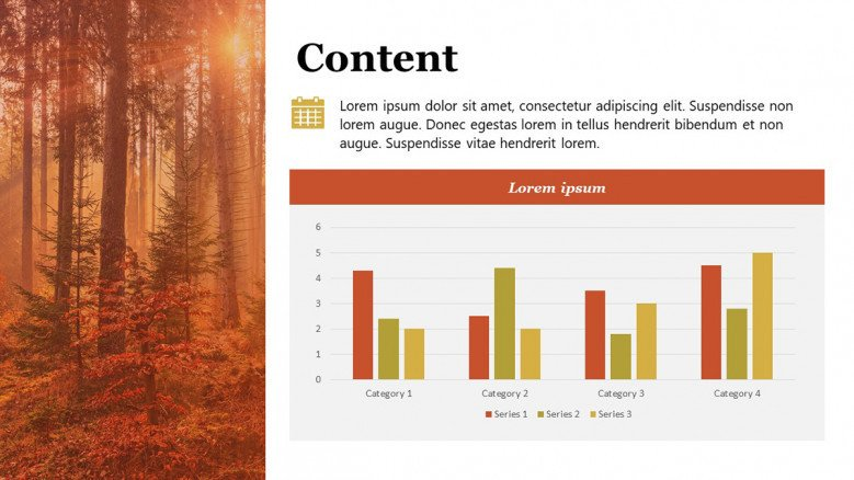 Fall PowerPoint charts