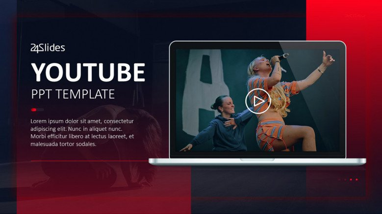 YouTube PowerPoint Template
