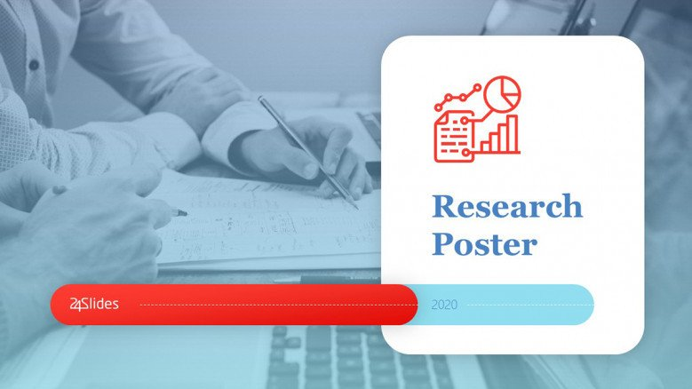 Research Poster Presentation Template in creative style